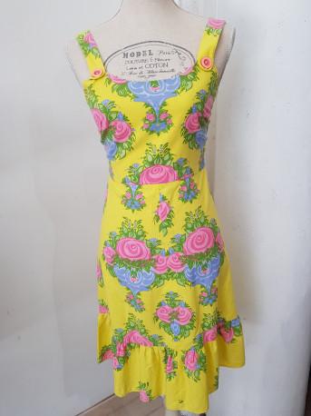 Robe vintage à fleurs