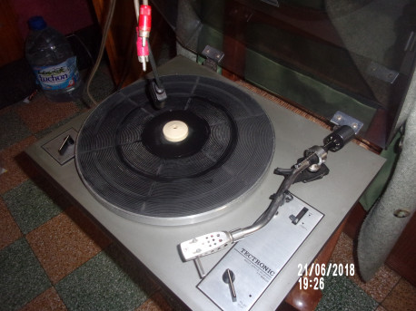 Platine vinyl tourne disques Tectronic vintage