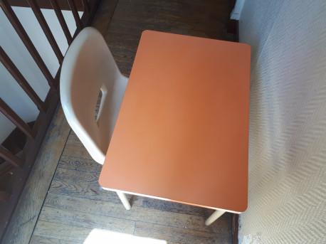 Table d'écolier vintage