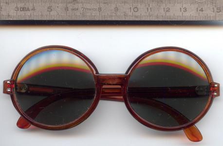 Mignonne Lunettes de Soleil Vintages, Années 70