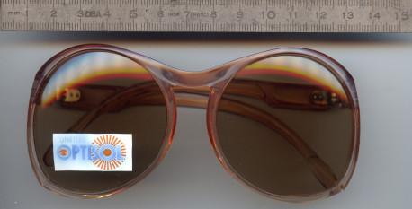 Lunettes de Soleil Vintages Femme OPTISOL, Années 70