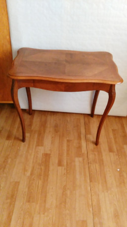 Table à écrire marquetée Style Louis xv Vintage
