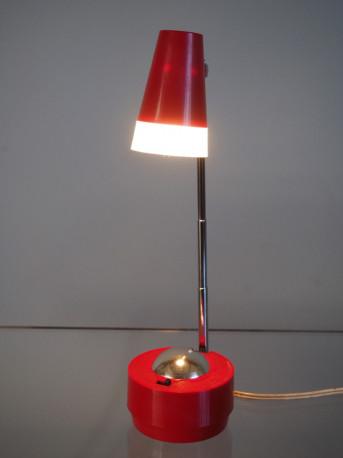 Lampe vintage télescopique - fabrication japonaise 70's