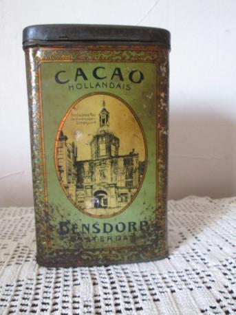 Boite cacao hollandais - Bensdorp Amsterdam