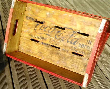 Caisse de Coca Cola US 70's