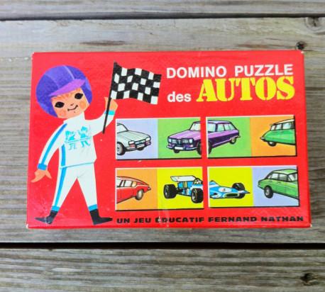 Domino puzzle des autos vintage
