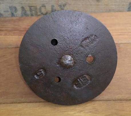 Roulettes Industrielles Vintage en Fonte