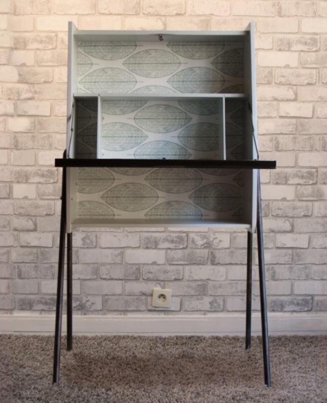 secr taire vintage les vieilles choses. Black Bedroom Furniture Sets. Home Design Ideas