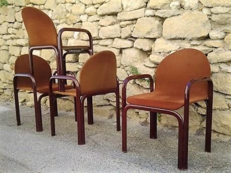Fauteuils Gae Aulenti Knoll Vintage