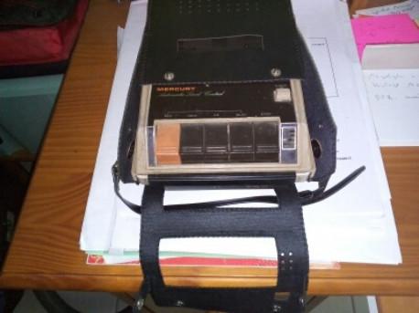 Magnétophone stéreo MERCURY vintage