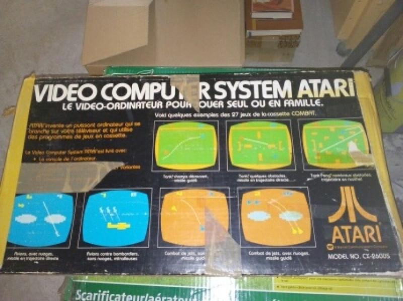 Console De Jeu Atari Cx 2600 S N 176 2 Vintage Les Vieilles