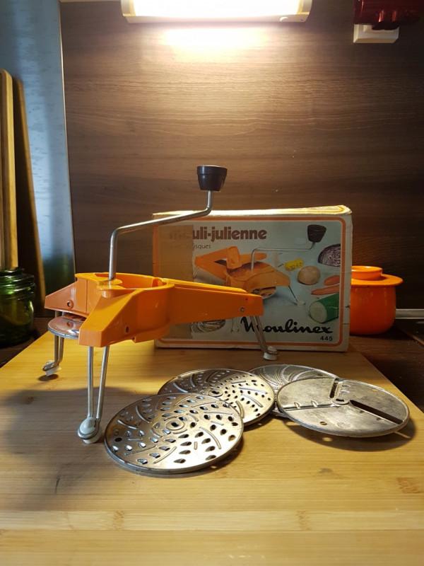 Mouli julienne moulinex 445 broyeur rotatif r pe for Trancheuse cuisine