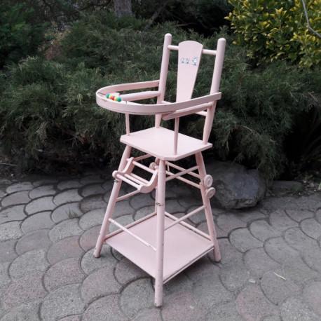Chaise de poupée vintage