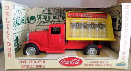 Truck 1930 bottling COCA COLA gearbox 1:18