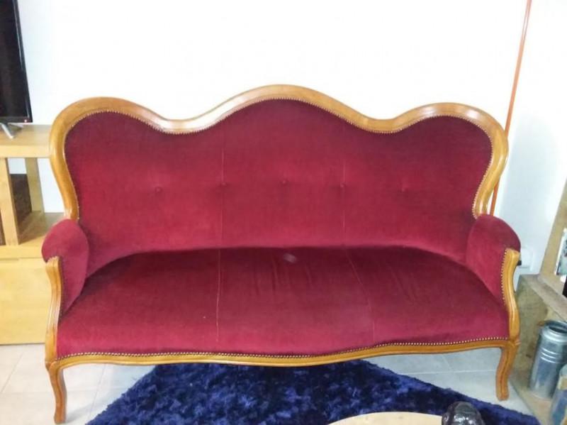 Canap et deux fauteuils vintage les vieilles choses for Canape et deux fauteuils