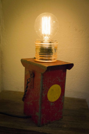 Lanterne de chantier vintage