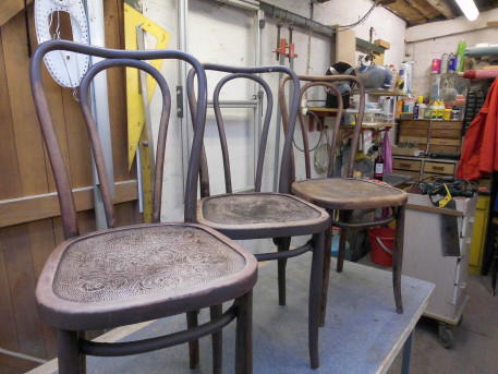 chaises de bistrot
