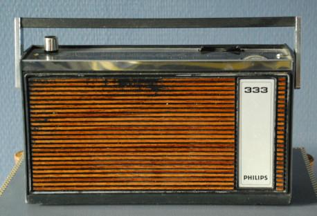 Poste radio Philips ancien