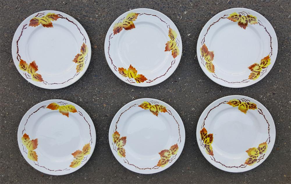Rencontres assiettes en porcelaine