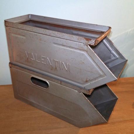 Casier métallique indus ancien