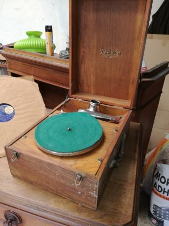 phonographe, gramophone Radiola Opéra Ancien