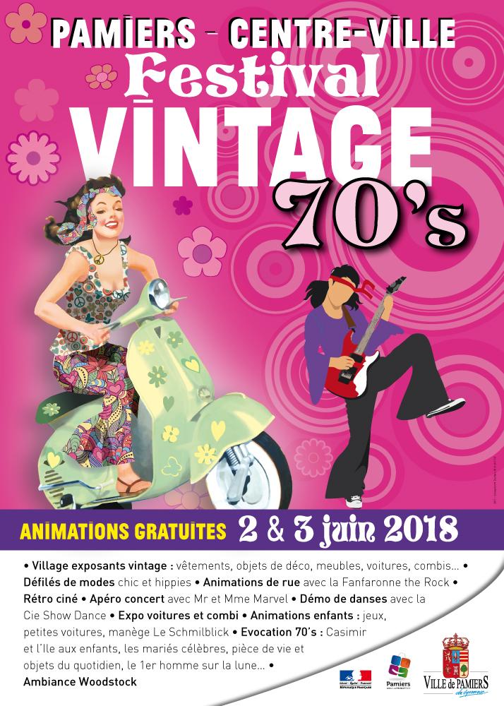 Festival vintage de Pamiers 2 et 3 juin