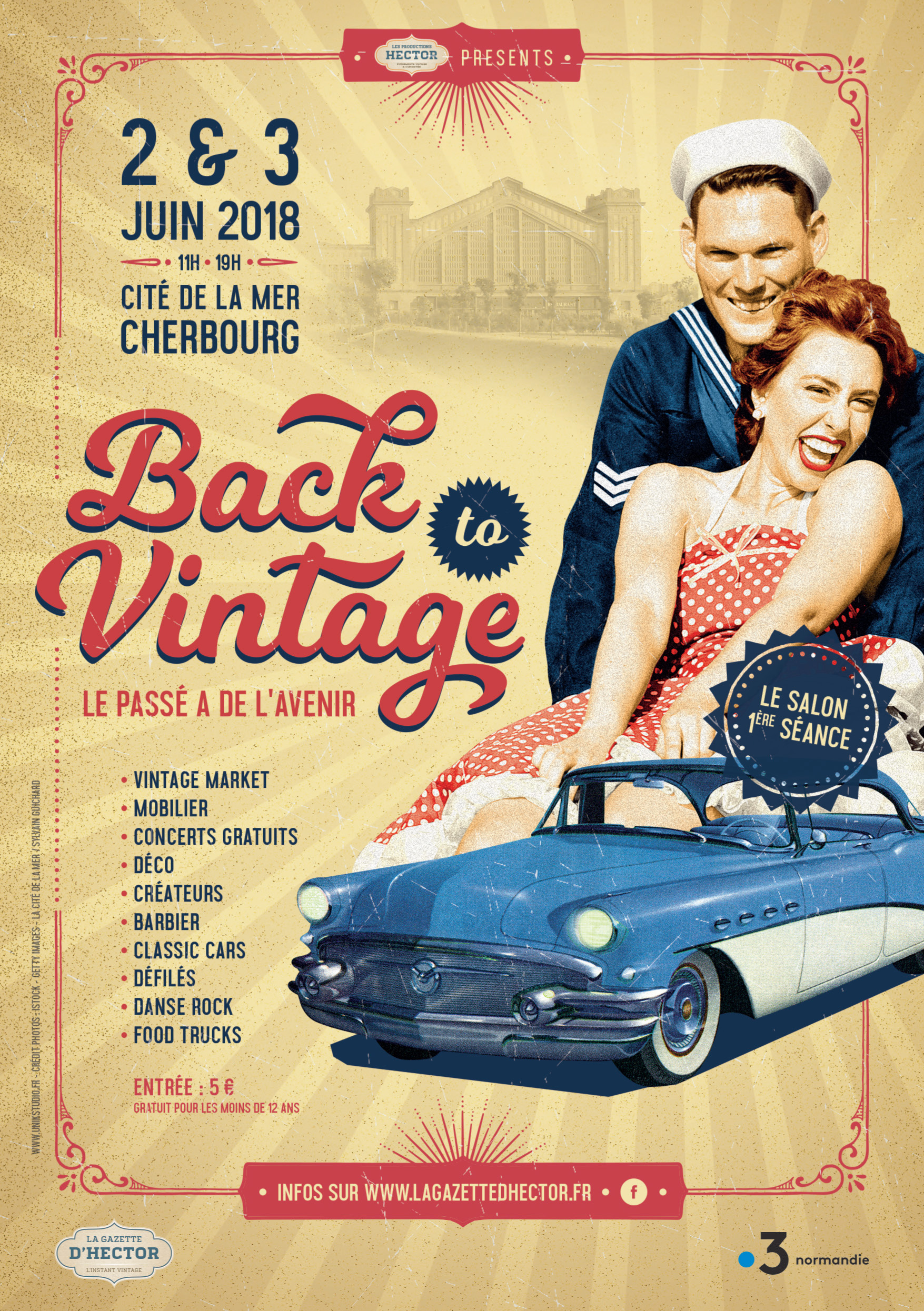 BACK TO VINTAGE CHERBOURG