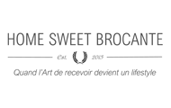 logo home sweet brocante
